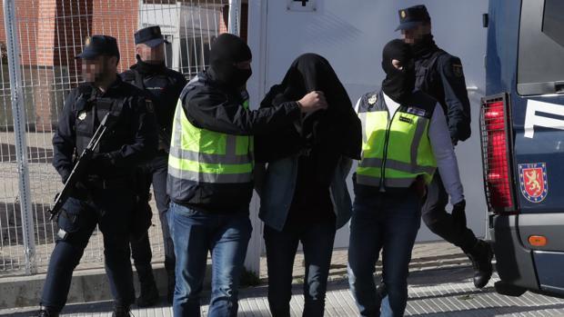 Imagen de archivo de la detención de un yihadista