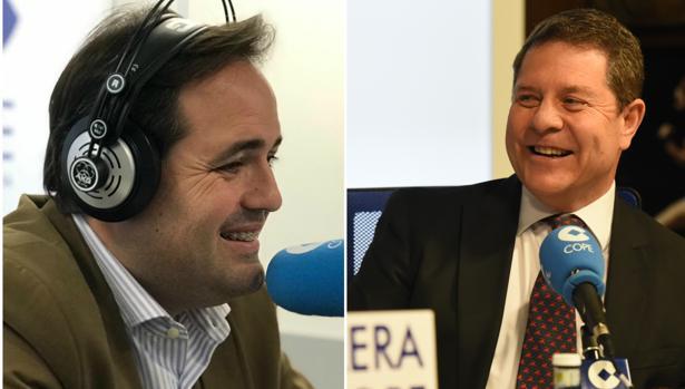 Paco Núñez y Emiliano García-Page
