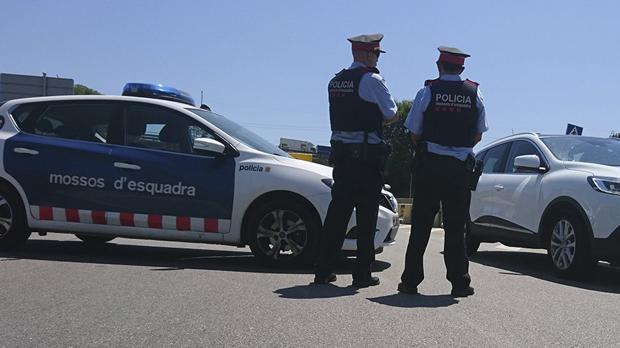 Una patrulla de los Mossos d'Esquadra, en una imagen de archivo