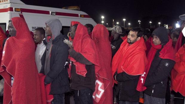Llegada el viernes de 76 inmigrantes rescatados a Motril