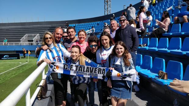 Aficionados del Talavera en Ibiza