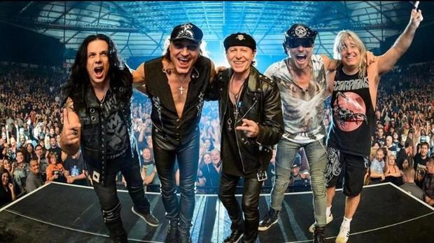 Scorpions actuarán en el Download