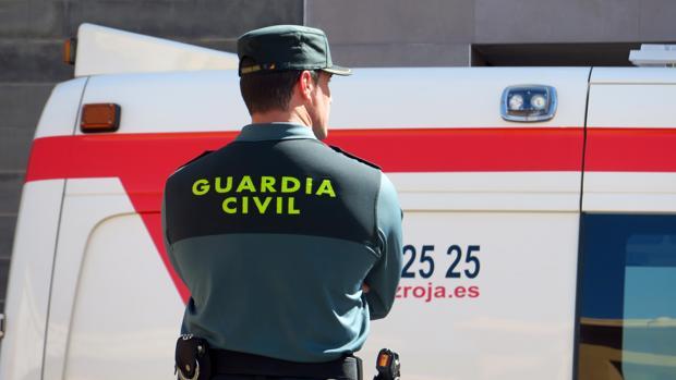 Imagen de un agente de la Guardia Civil en la provincia de Alicante