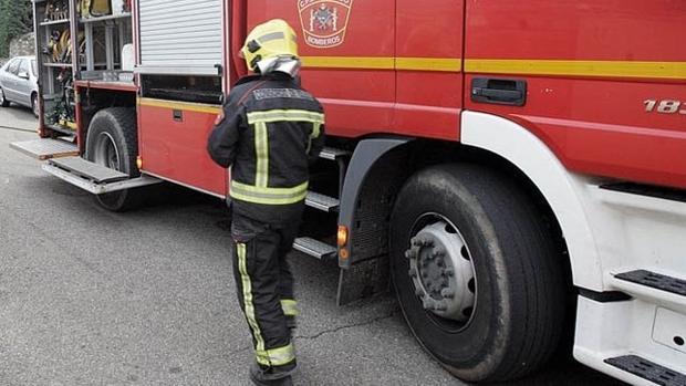 Imagen de archivo de un bombero de Toledo