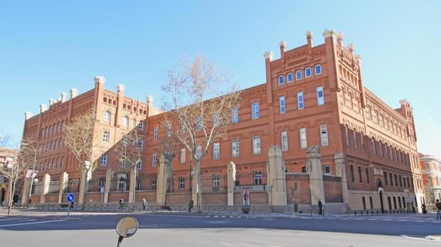 Sede de la Universidad Pontificia de Comillas, en Alberto Aguilera