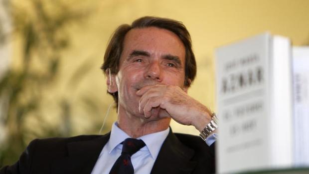 Presentación del libro de Aznar, hoy en Sevilla