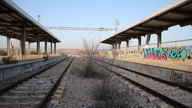 La estación de San Martín de la Vega, abandonada desde su clausura en 2011