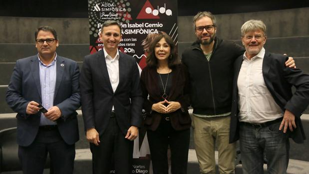 Presentación de la próxima gala en el ADDA de Alicante