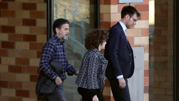 Pujol, en marzo, abandonando la cárcel de Brians 2