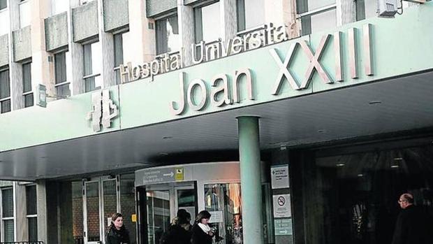 Entrada del hospital Joan XXIII de Tarragona
