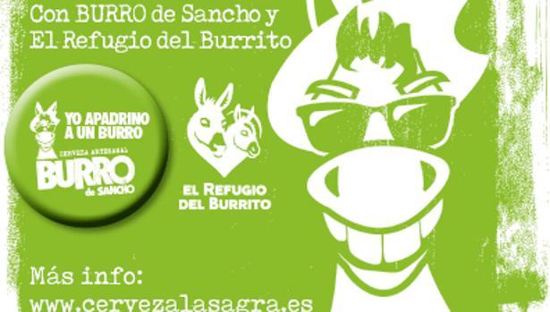 El dinero recaudado se destinará a la ONG «El Refugio del Burrito»