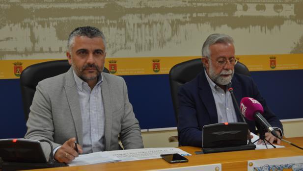 José Luis Muelas y Jaime Ramos durante la presentación del programa