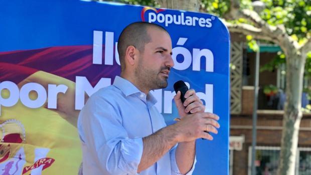 José Luis Álvarez Ustarroz, candidato a la alcaldía de Majadahonda por el Partido Popular