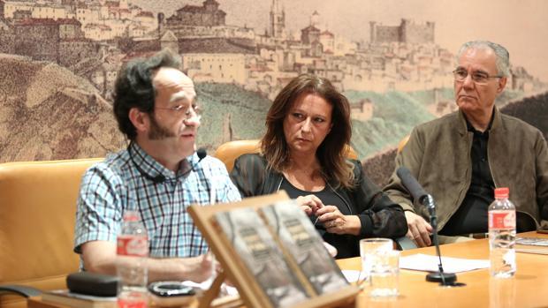 Santiago Sastre, María José Muñoz e Hilario Barrero
