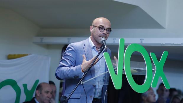 El candidato de Vox a las elecciones europeas, Jorge Buxadé