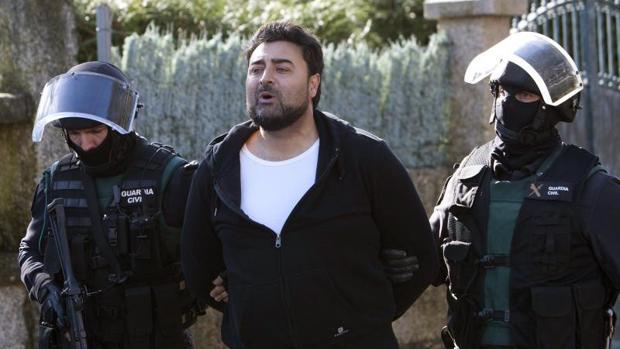 Juan Paulo Giménez en una detención en 2016