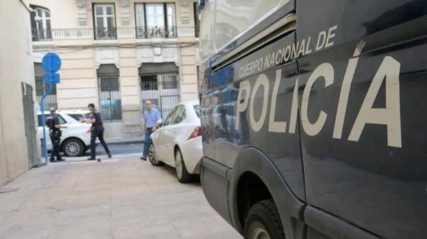 Imagen de archivo de un furgón policial
