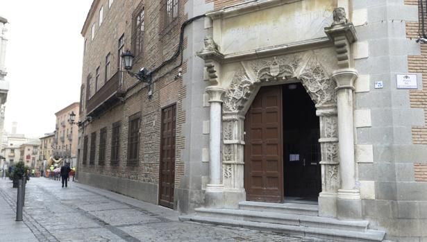 Entrada a la Audiencia Provincial de Toledo