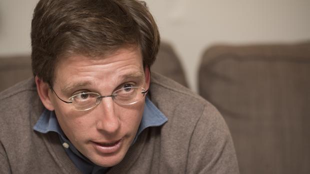 José Luis Martínez-Almeida en una entrevista para ABC
