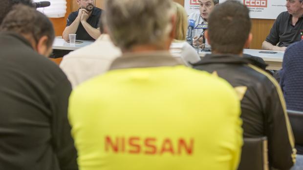 Reunión del Comité de Empresa de Nissan, el pasado miércoles