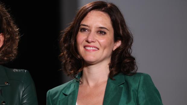 Isabel Díaz Ayuso, candidata del PP y probable nueva presidenta de la Comunidad de Madrid