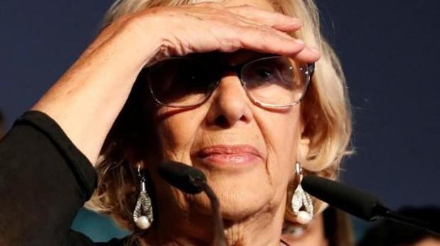 La alcaldesa en funciones Madrid, Manuela Carmena,