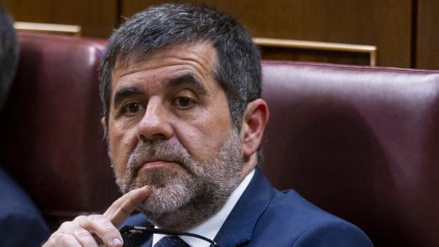 Jordi Sànchez, en la sesión constitutiva del Congreso