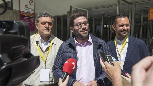 Sánchez Cabrera, en la jornada electoral del 26 de mayo