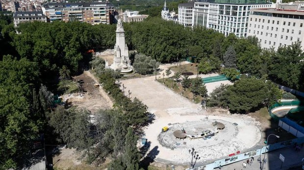 Del Paleolítico a la era romana: los vestigios bajo la plaza de España