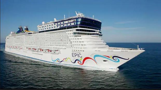 Imagen de uno de los cruceros similares del que ha desaparecido la pasajera