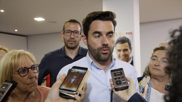 El cabeza de lista del PSOE a la Alcaldía de Zamora, Antidio Fagundez