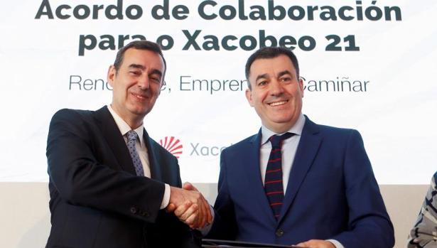 Acuerdo entre Caixabank y la Xunta de Galicia