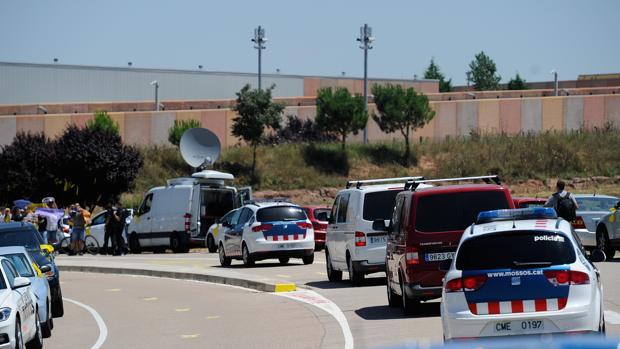 Los líderes del «procés» encarcelados llegaron en julio de 2018 al centro penitenciario de Lledoners