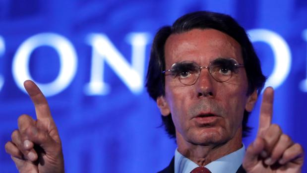 Aznar, el miércoles en Madrid