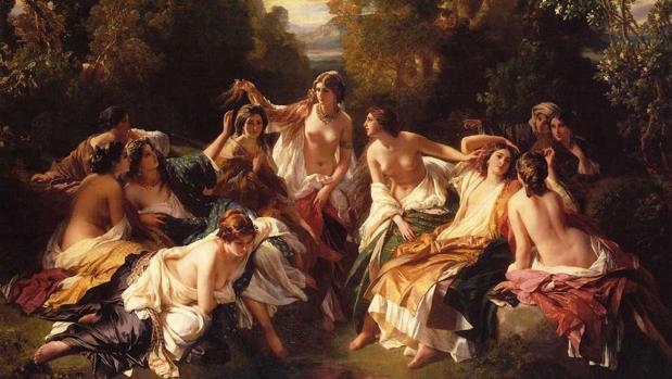Florinda (1853) de Franz Xavier Winterhalter