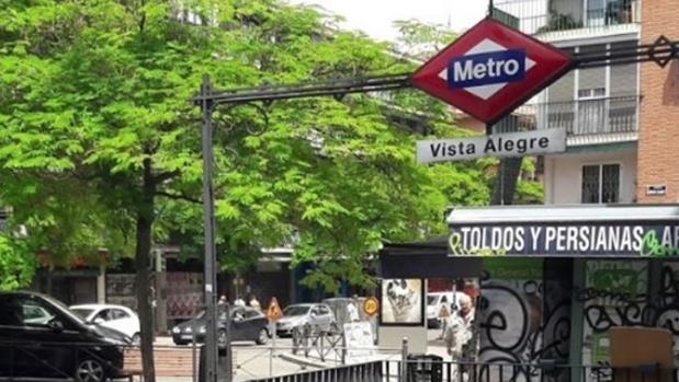 Estación de metro de Vistalegre (Madrid)