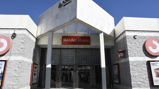 Exterior de la estación de Cercanías de Méndez Álvaro