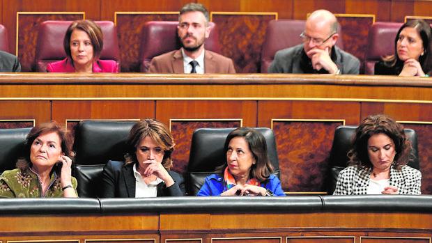 Pleno de sesión de control al Gobierno en el Congreso de los Diputados