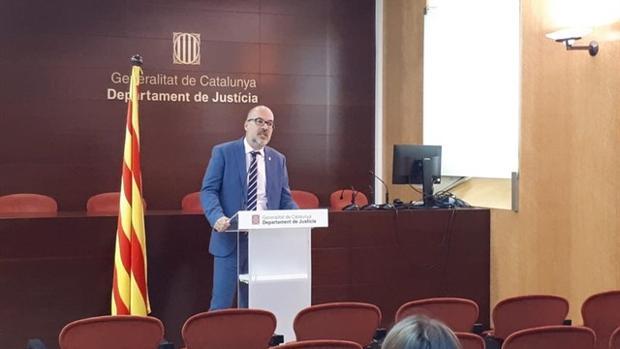 Joan Abad, secretario de Relaciones de la Administración de Justicia de la Generalitat de Cataluña.