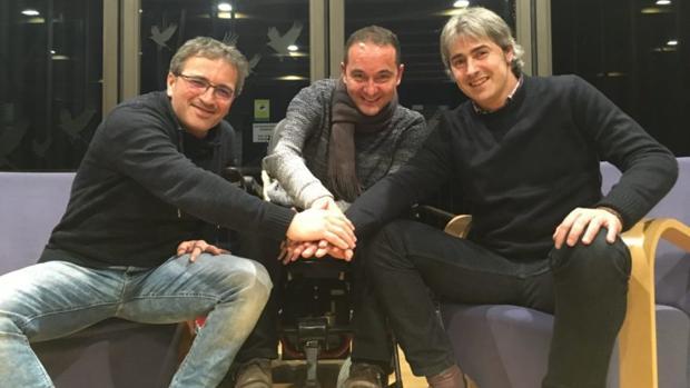 Miguel Guede, José Ignacio y Rubén Zulueta serán los protagonistas en el Camino de Santiago