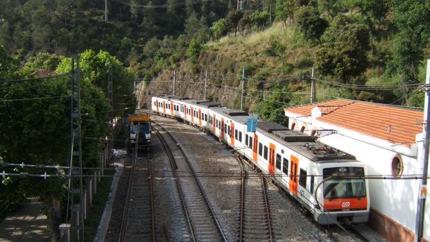 Tren de los ferrocarriles catalanes en una imagen de archivo