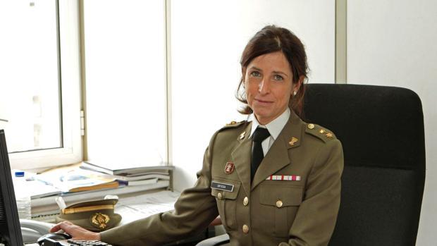 Patricia Ortega, la primera mujer en conseguir ascender a general de las Fuerzas Armadas Españolas