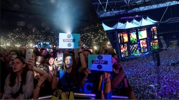 En el espacio se pueden revivir los mejores conciertos de Sheeran