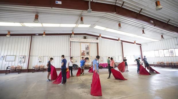 Escuela de tauromaquia Marcial Lalanda, ahora cerrada