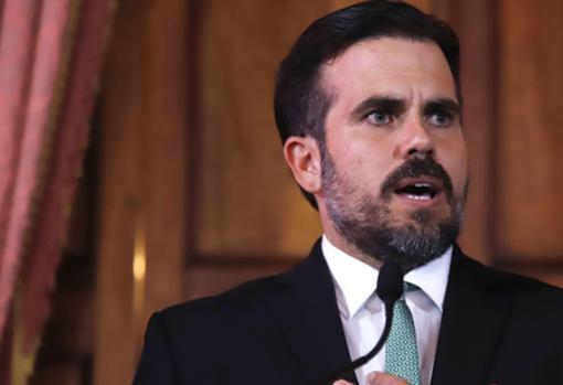 Imagen de archivo del gobernador de Puerto Rico, Ricardo Rossello