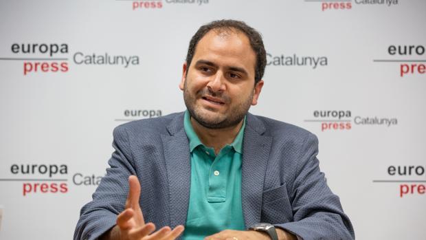 El presidente de Sociedad Civil Catalana, Fernando Sánchez Costa