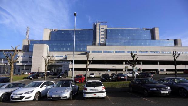 Vista del Complejo Hospitalario Universitario de Santiago de Compostela (CHUS)