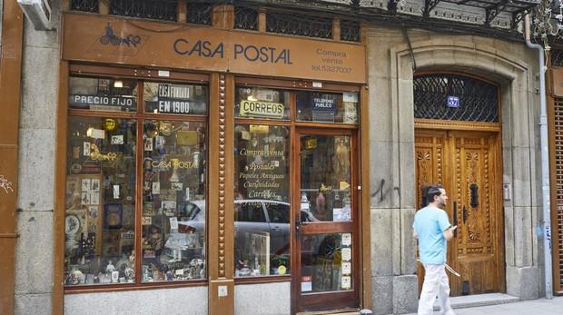 Fachada de la Casa Postal, en la Calle de la Libertad