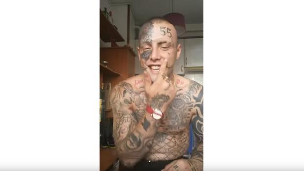 «El cráneo reventado»: el protagonista de un aparatoso accidente en Lugo alardea en las redes sociales