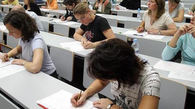 Examen para el acceso al Cuerpo de Maestros